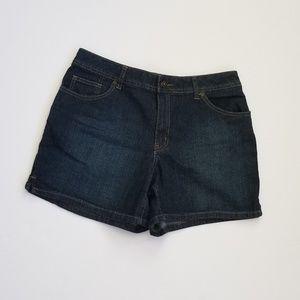 St John's Bay Stretch Shorts Sz 10